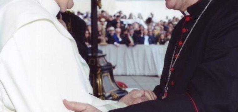 L'Arcivescovo Italo incontra Papa Francesco