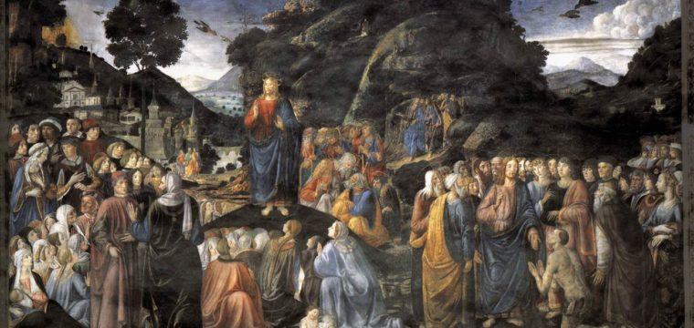 Il Papa, le beatitudini e la consolazione dello Spirito Santo
