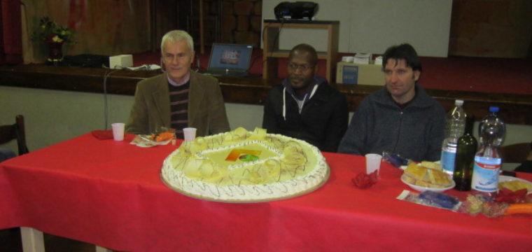 Il mondo di Claudio Marchini – cena con Padre Paulo