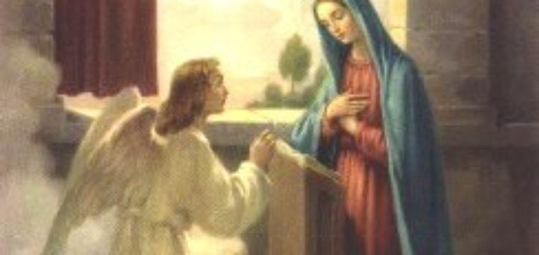 E l'angelo si allontanò da lei (Lc 1,28)