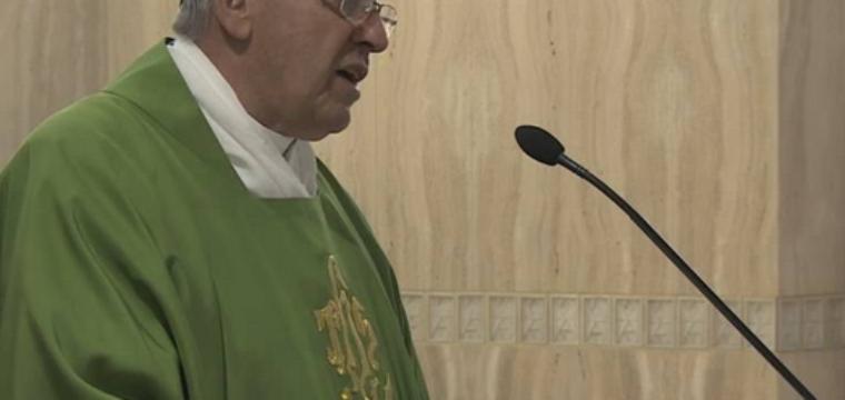 Papa Francesco omelia a Santa Marta 3 febbraio