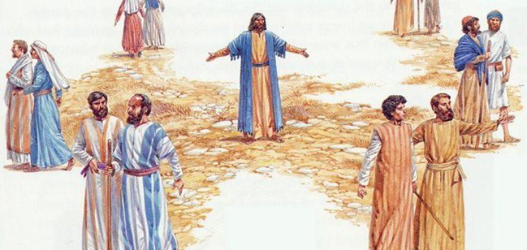 Il Signore Gesù inventa la Chiesa.