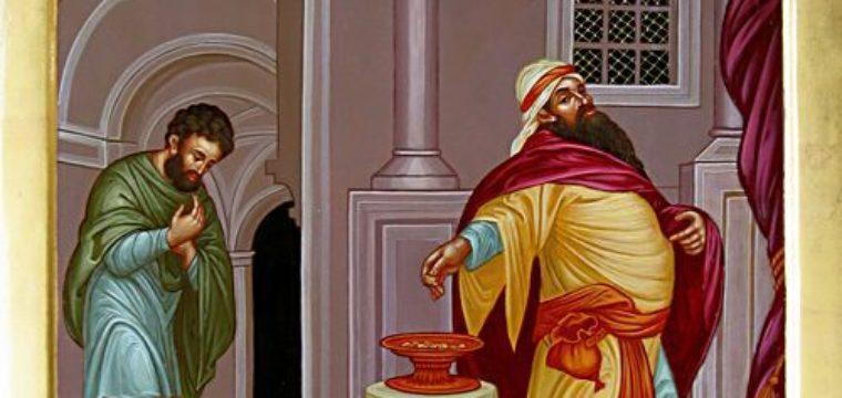 L'«ego» del fariseo e il «cuore» del pubblicano