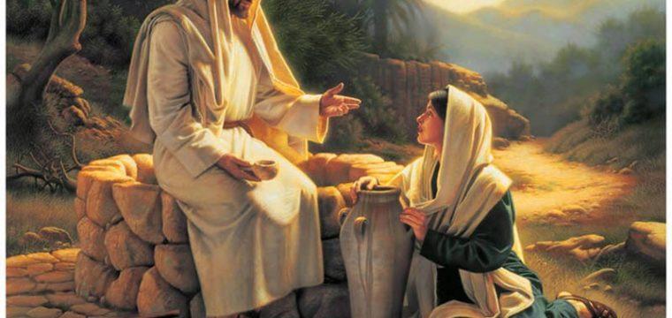 «Signore, dammi sempre quest'acqua»
