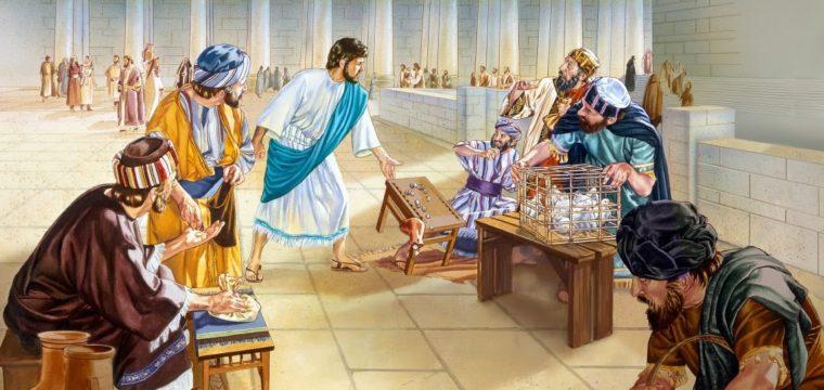 Se mercanteggiamo con lui, Dio ci rovescia il tavolo