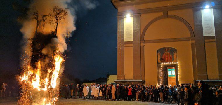 La Bubbara per la festa di San Sebastiano