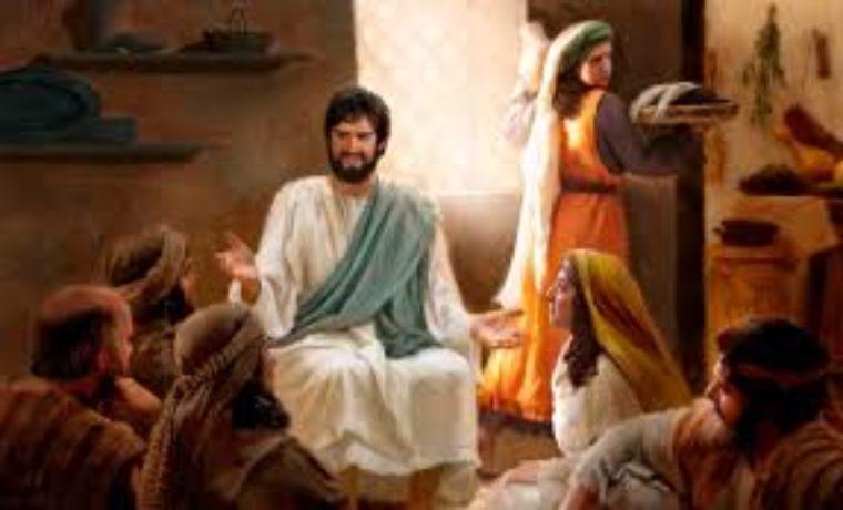 Dio ci rende visita